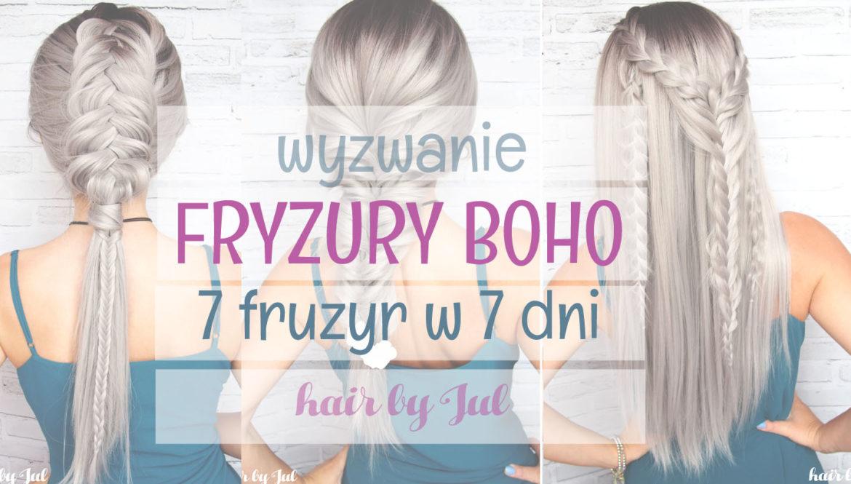 fryzury boho