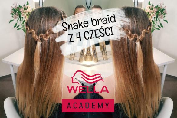 snake braid z 4 części