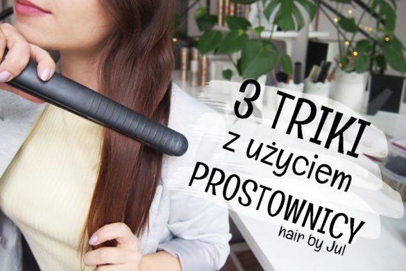 3 triki z użyciem prostownicy